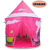Eggsnow Kids Tents Indoor, Girl Castle Tent Pop Up Tent...