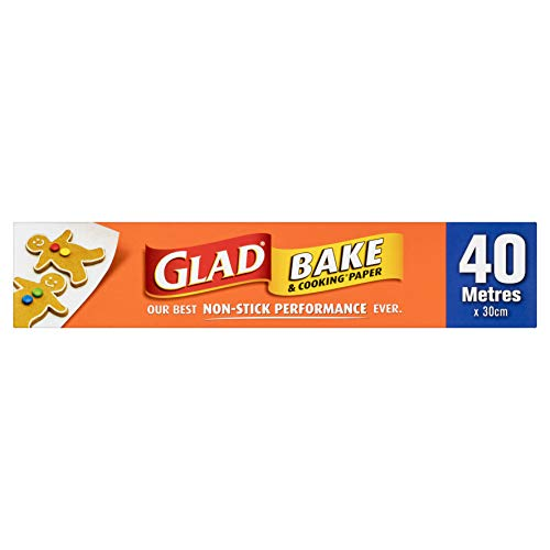 Glad Bake and Cooking Paper, 40 Metre Length