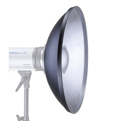 Glow 28'' Silver Beauty Dish for Bowens Mount