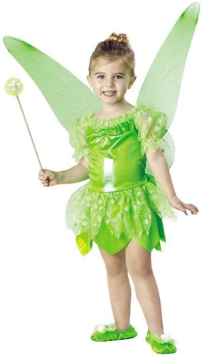Toddler Tinkerbell Fairy Costume, Size Toddler 2T-4T ()