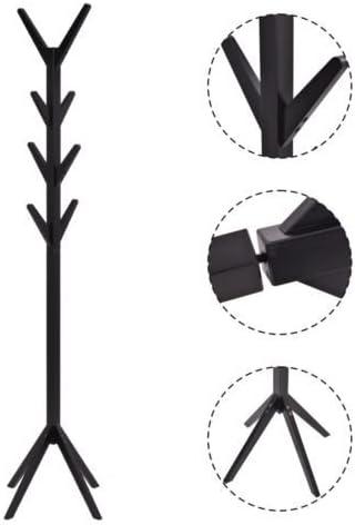 4 Color Coat Rack Tree Stand Clothes Holder Hat Hanger Hall Stand Umbrella Wood
