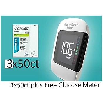 Amazon Com Accu Chek Instant S Meter With 10 50 60 Test
