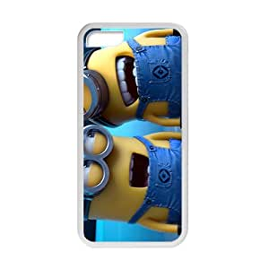 iPhone 5C Case [Cute Minions] Personalize Rugged Protective Durable Case for iPhone 5C Smartphone [Non-Slip] Shock Absorbing and Scratch Resistant Perfect 2 in 1