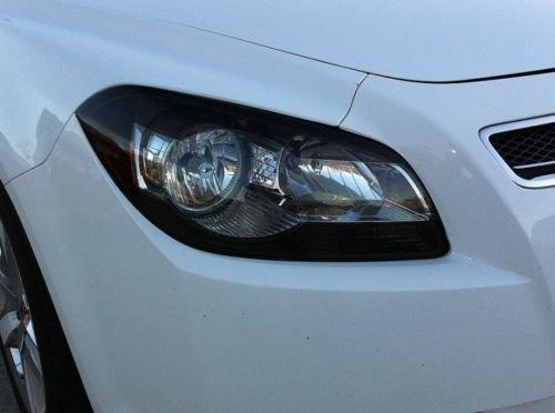 Precut Vinyl Tint Cover for 2008-2012 Chevrolet Malibu Headlights with Cutout (20% Dark Smoke)