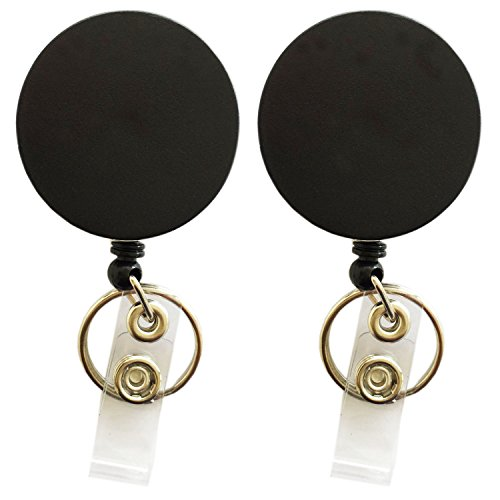 ab097d9cd48b Strong Retractable Badge Holder keychain 1 Pair Color for sale Delivered  anywhere in USA
