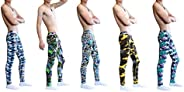 ARCITON Men's Low Rise Leggings Long Johns Thermal