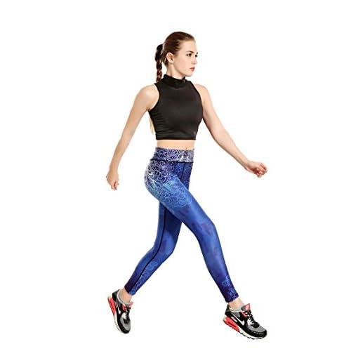 Erica Pantalons de sport à séchage rapide pour femmes Athletic Gym Workout Fitness Yoga Leggings Pantalons