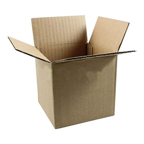 200 4x4x4 Cardboard Packing Mailing Moving Shipping Boxes Corrugated Box Cartons from Unknown