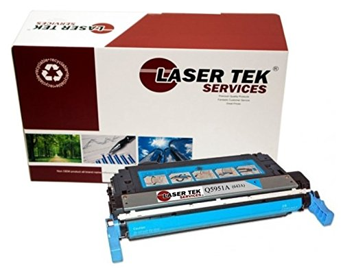 (Laser Tek Services Compatible 643A Toner Cartridge Replacement for The HP Q5951A. (Cyan, 1-Pack))