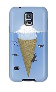 ElsieJM Galaxy S5 Hybrid Tpu Case Cover Silicon Bumper Very Funny At Sea Desktop