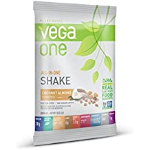 SAMPLE SIZE Vega One Plant Protein Powder, Coconut Almond, 1.5 Ounce