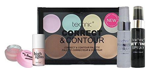 Technic Prep & Define Collection Kit Gift Set Badgequo