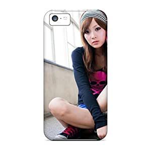 New Iphone 5c Case Cover Casing(asian Fashion Girl)