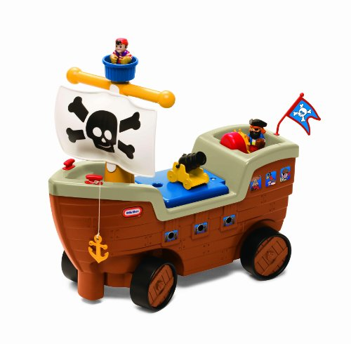 Little Tikes 2-in-1 Pirate Ship - http://coolthings.us