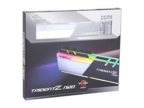 G.Skill Trident Z Neo Series 32GB (2 x 16GB) 288-Pin SDRAM PC4-28800 DDR4 3600 CL16-19-19-39 1.35V Dual Channel Desktop Memory Model F4-3600C16D-32GTZNC