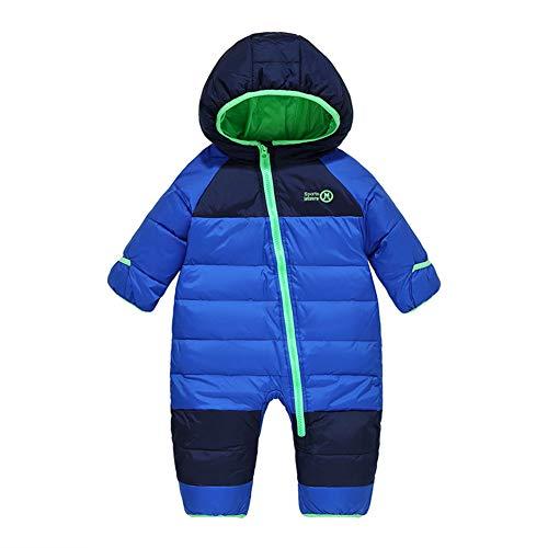 Digirlsor Baby Snowsuit Toddler Boy Girl Down Romper Jumpsuit Winter Hooded Puffer Jacket Pram Suit,1-4 Years