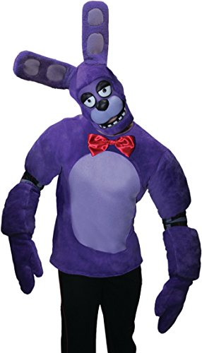 Rubie's Costume Co Five Nights at Freddy's Bonnie Costume, As Shown, X-Large