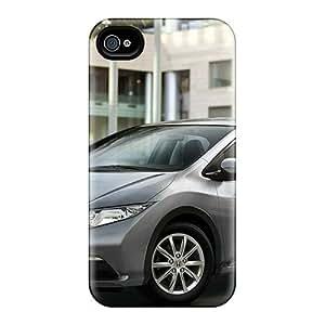 STWanke VgyNSsJ3105pQdQY Protective Case For Iphone 4/4s(honda Civic Eu Version 2012)