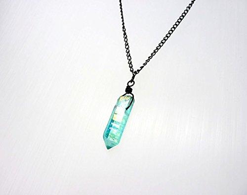 Aqua Aura Crystal Necklace ab2fc0cb8e