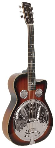 Gold Tone Paul Beard Signature Series PBR-CA Roundneck Resonator Guitar (Vintage (Beard Resonator Guitar)