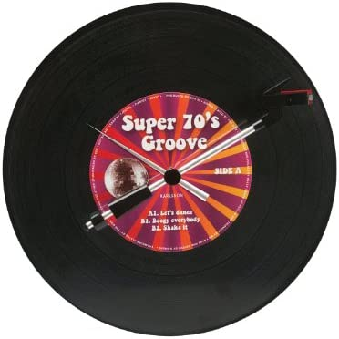 Reloj de pulsera Spinning record: Amazon.es: Hogar