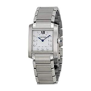 Cartier Tank Francaise WE110007Acero Inoxidable Cuarzo Reloj de Pulsera para Mujer 5