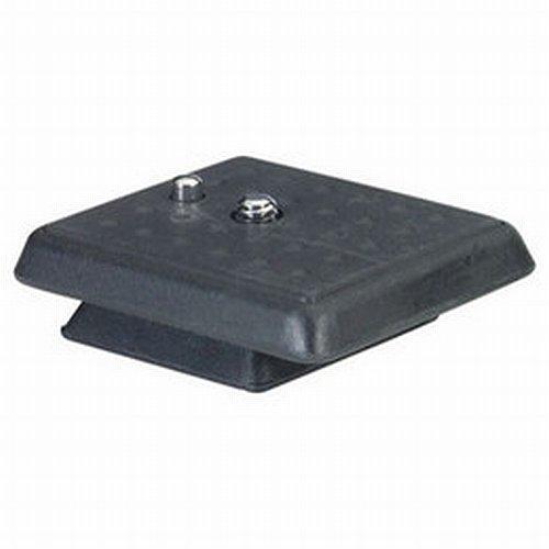 Giottos 6E01 Quick Release Plate (Black)