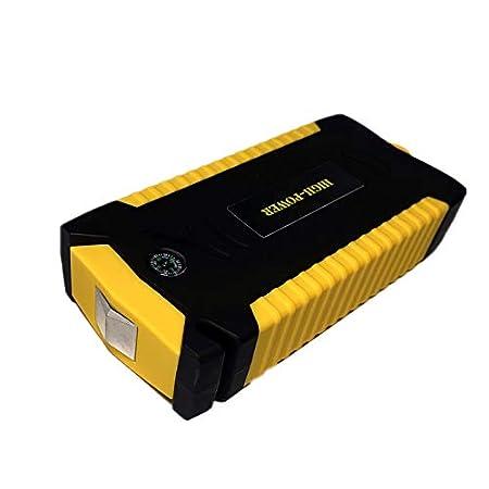 Super Power Auto Starthilfe Energienbank 600A Tragbare Autobatterie Booster Ladeger/ät 12 V Startvorrichtung Benzin Diesel Auto Starter