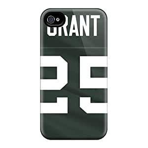 4/4s Scratch-proof Protection Case Cover For Iphone/ Hot Green Bay Packers Phone Case