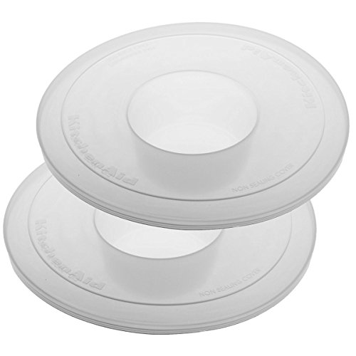 KitchenAid KBC90N 2-Pack Bowl Covers for Tilt-Head Stand Mixers (Kitchen Aid Mixing Bowl Set compare prices)