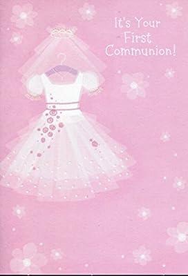 Tarjeta de felicitación Comunión