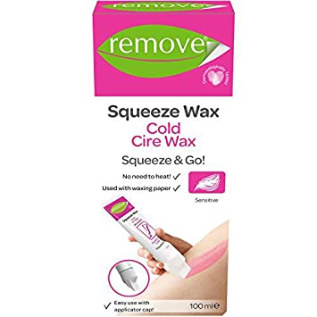 Amazon com : Hair Removal Cold Cire No Heat Squeeze Wax for