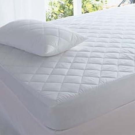 Protector de colchón acolchado Highliving®, extra profundo: 30 cm, varios tamaños, King (152 × 200 cm): Amazon.es: Juguetes y juegos
