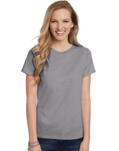 Hanes Women's T-Shirt - XXX-Large - Vintage Gray