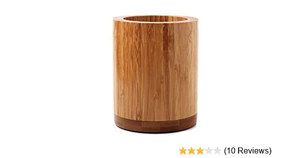 Oc Design Eco Friendly Natural Bamboo Wood Kitchen Utensils Holder