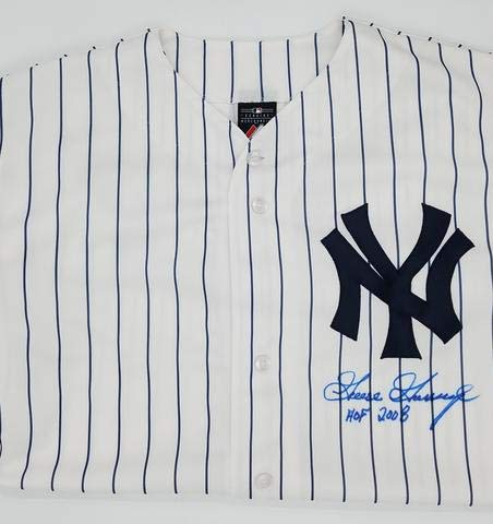 "Goose Gossage""HOF 2008"" Autographed Yankees Replica Jersey Signed Front"
