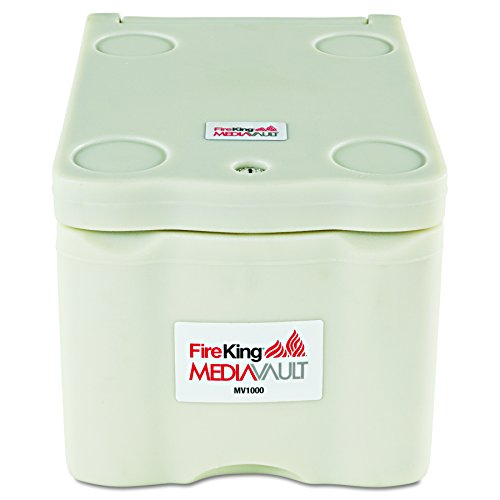 Insulated Media File - FireKing Stand Alone Media Vault Safe, 11-5/8