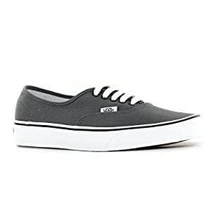 Vans Classic Authentic Trainers (US Men's Size 9.5, Pewter/Black)