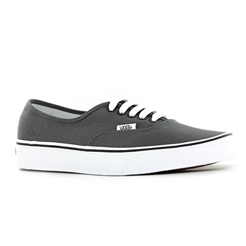 Vans Authentic Unisex Skate Trainers Shoes Pewter/Black AOPCATKaOq