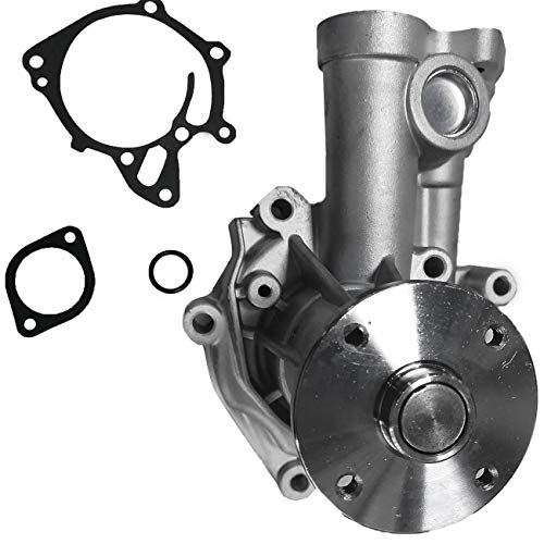 Bapmic MD050450 Engine Water Pump for Dodge Mitsubishi Pickup 2.3L DIESEL Turbo
