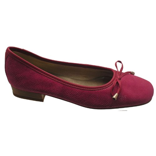Womens Riva Ladies Shoes Provence Fish Ballerina Fuchsia 0qpaBTqw