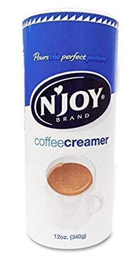 N'Joy IUYEHDUH Coffee Creamer, Non Dairy, 12 Ounce 12 Pack