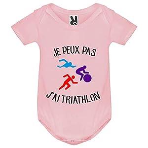 Body bébé - Je Peux Pas j AI Triathlon - Bébé Fille 6