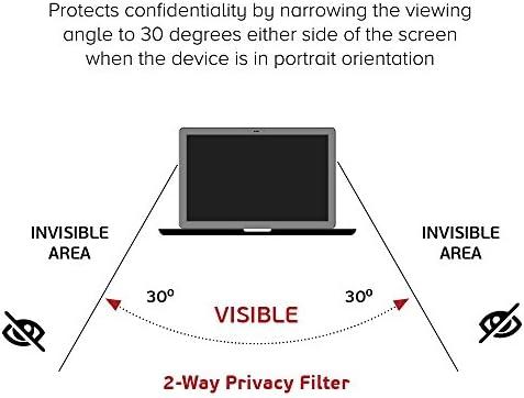 Celicious Filtre /écran de confidentialit/é Anti-Espion Touch 2 Directions Privacy Compatible avec Dell Latitude 12 7280
