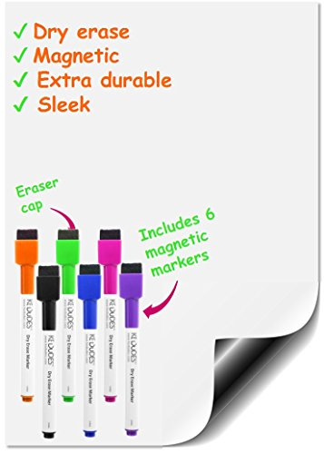 Premium Magnetic Dry Erase Whiteboard Sheet 17