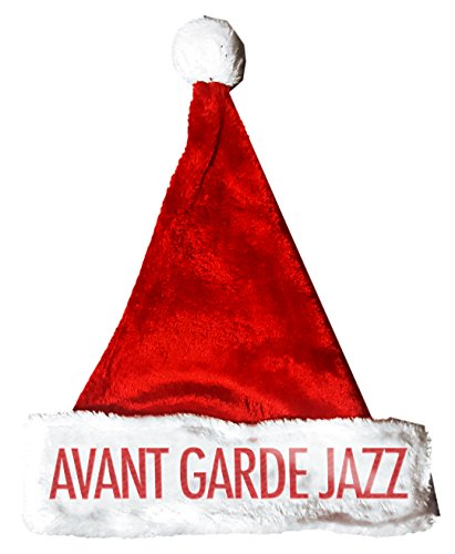 Avant Garde Costume For Men (AVANT GARDE JAZZ Santa Christmas Holiday Hat Costume for Adults and Kids u6)