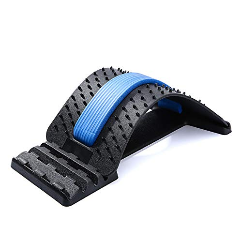 Lumbar Cervical Vertebra Massage Lumbar Correction Innovative Fitness Equipment Spine Car Acupuncture Cushion Neck Back Finger Pressure Pillow Kneading Cervical Shoulder Relaxation