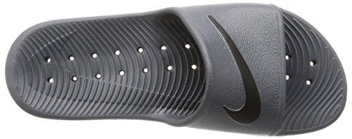 Sandalias De Diapositivas Ducha Kawa Nike Hombres Gris Oscuro / Negro Precio bajo de salida Precio bajo en línea barato Liquidación de liquidación Descuento Sast Precio bajo Precio bajo EB2l5aZ