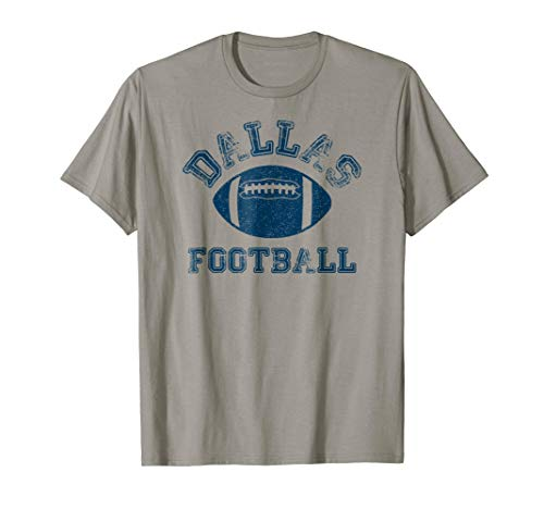 Dallas Distressed Pro Football Team T-Shirt Mens Womens