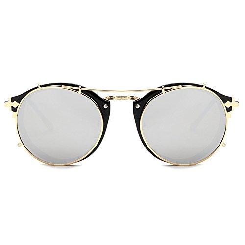 f398326839 TIJN Stylish Steampunk Sunglasses Celebrity product image